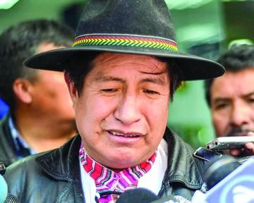 Rafael Quispe, suspendido por seis meses