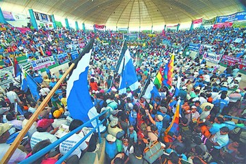 MAS y aliados abren dos frentes para lograr la reelección de Evo