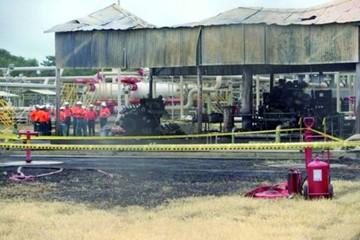 Dos heridos en explosión de planta de tratamiento de gas