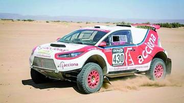 Acciona regresa  al Dakar con un coche eléctrico