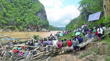 Indígenas se oponen a los proyectos hidroeléctricos