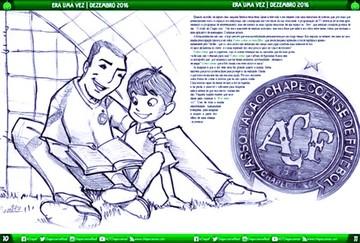 """""""Chape"""" crea cuento infantil"""