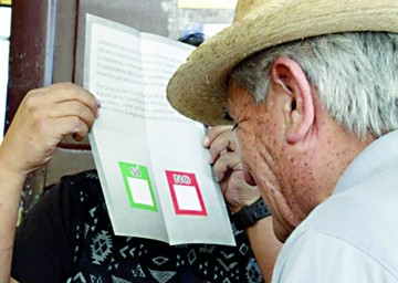 34 municipios irán a referéndum en julio