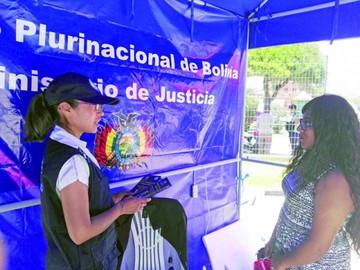 Defensa Pública atendió 490 casos sólo en un mes