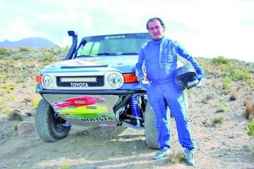 Careaga anhela llegar a Potosí y concluir el Rally