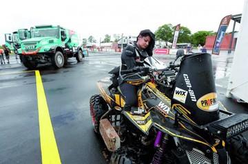 Suany Martinez, feliz por su debut en el Rally Dakar