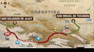 Competidores corren la tercera etapa del Dakar 2017