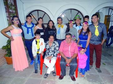 Año Nuevo de la familia Montoya