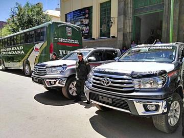 Tupiza recibe al Dakar