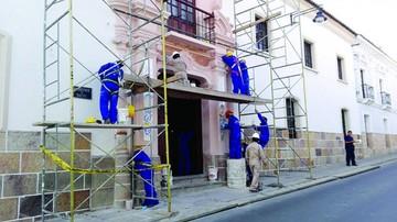 Preparan restauración del templo de Quila Quila