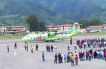 La autorización para el vuelo de LaMia  salió de la DGAC