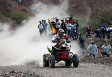 Wálter Nosiglia abandona el Dakar