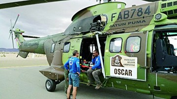 Pilotos fueron auxiliados tras sufrir accidentes