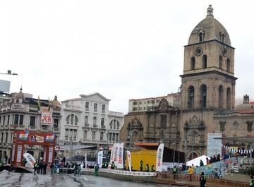 Caravana del Dakar se dirige a La Paz