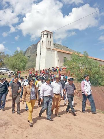 La restauración del templo de Quila Quila, en marcha