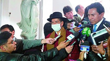 Suspenden nuevamente audiencia de juicio contra Gualberto Cusi