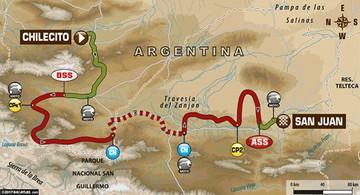 Se reanuda la competencia del Dakar con la décima etapa