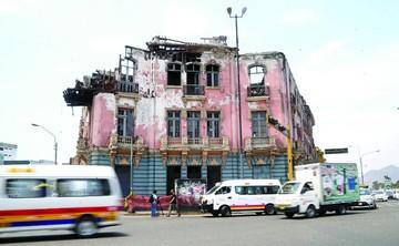 El centro de Lima, un patrimonio abandonado