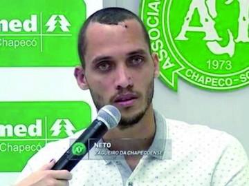 Chapecoense: Helio Neto avanza en su recuperación