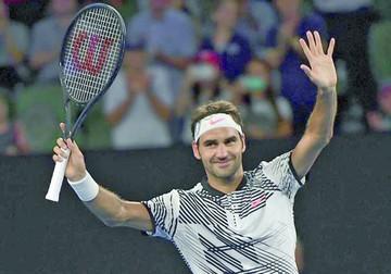 Federer y Murray festejan