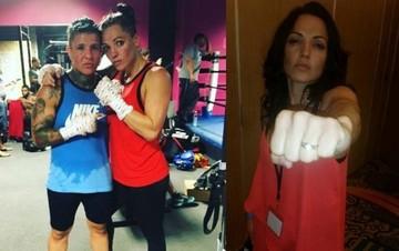 Jennifer Salinas fija fecha para el matrimonio con su novia boxeadora