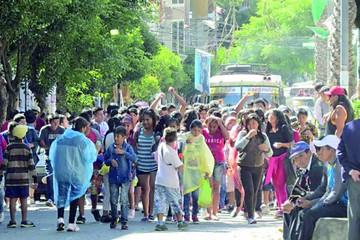Concejo aprueba juego con agua en el Carnaval