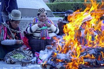Alistan ceremonia ancestral para el 22