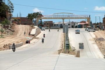 Concejales, vecinos y SIB, descontentos con obras de avenida