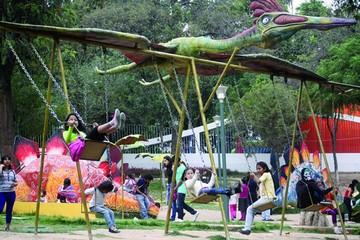 Parque: Reordenamiento incluye patio de comidas