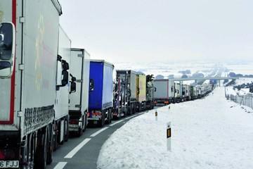 Temporal de nieve afecta parte de España