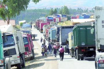 Fiscalía acusa a dirigentes del transporte