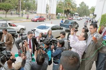 Arce y magistrados acuerdan bases de la reforma judicial