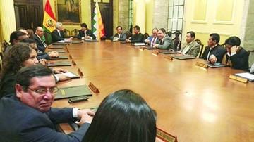 El gabinete de Evo, con la cabeza puesta en la reelección
