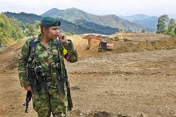 Las FARC se instalan en zona transitoria