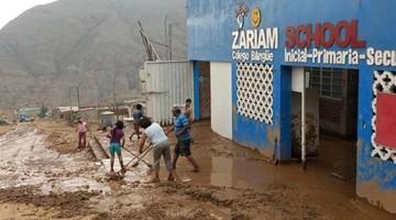 Inundaciones en Perú dejan 23  víctimas fatales