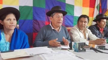 Campesinos exigen definir los límites con Santa Cruz