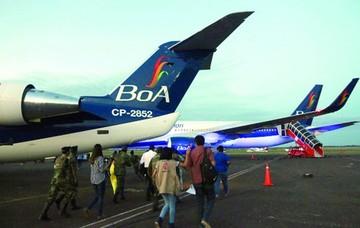 Aeronave de BoA con emergencia en pleno vuelo