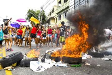 Huelga policial en Brasil deja decenas de muertos
