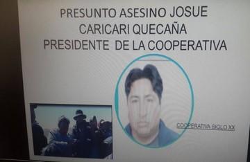 Minero Caricari se entrega por la muerte del ex viceministro Rodolfo Illanes