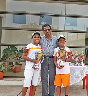 Tenis: Chuquisaca celebra