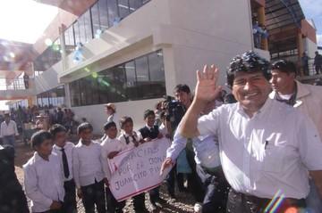 Evo Morales desea que se vuelva a pagar el doble aguinaldo en 2017