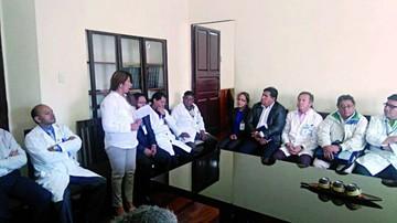 Sedes posesiona a nuevos directores de los hospitales