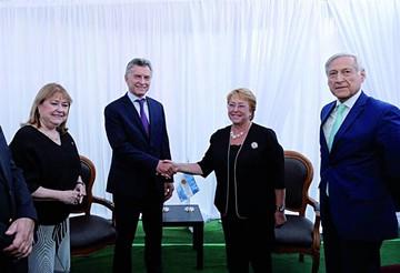 Chile y Argentina quieren reforzar unidad regional