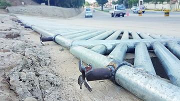 Hallan más de 50 fallas en la avenida Juana Azurduy