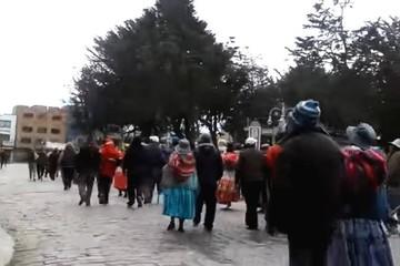 Se reactiva la violencia en Achacachi y el Defensor detecta uso de armas de fuego