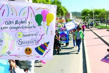 El Carnaval Saludable, con premios en efectivo