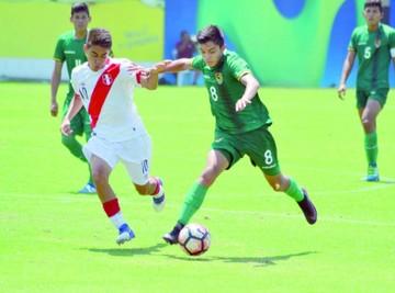 Sub 17: Bolivia cae en duelo previo al Sudamericano