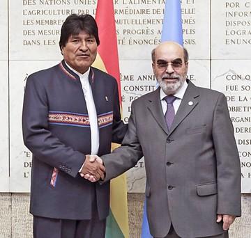 Bolivia comienza trámite para acceder a millones