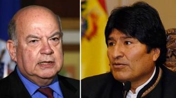 Evo cuestiona a Chile e Insulza le replica con dureza