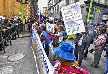 Yungas eleva protesta por nueva ley de coca